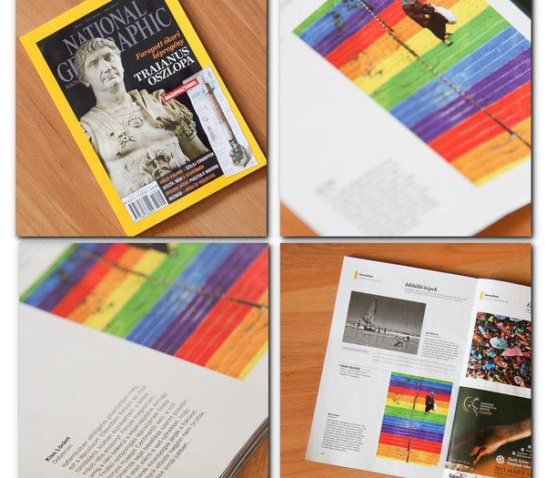 Publikáció a National Geographic-ban