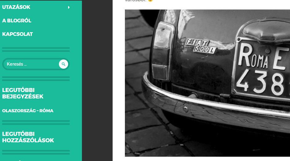 Utazoom.hu, az új blogom
