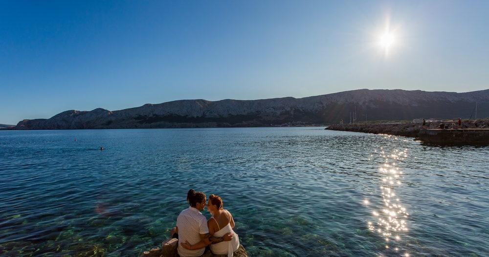 Esküvői fotózás Horvárotszágban